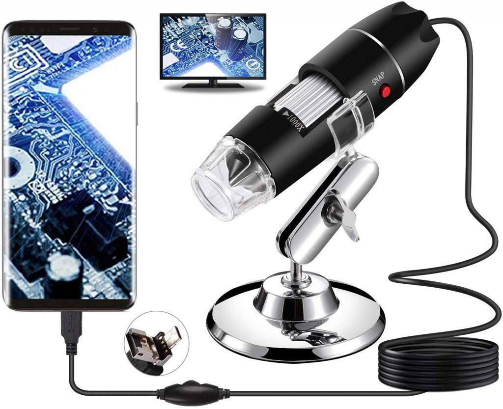 Microscope numérique USB, Portable Bysameyee
