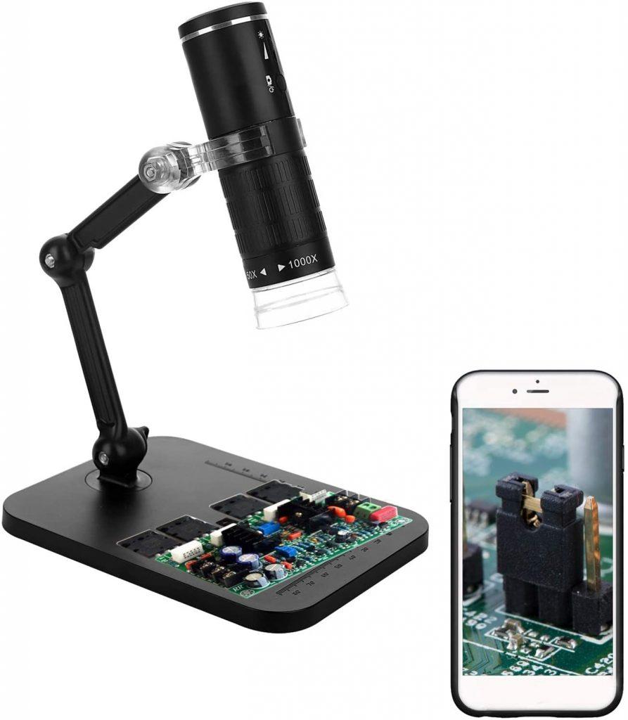 Microscope Numérique Wifi, KKmoon Microscope USB 1000X