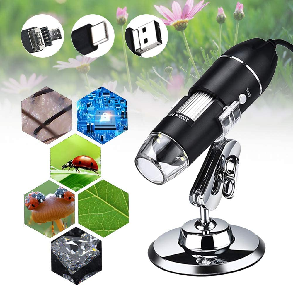 Microscope de Poche, KKmoon Microscope USB