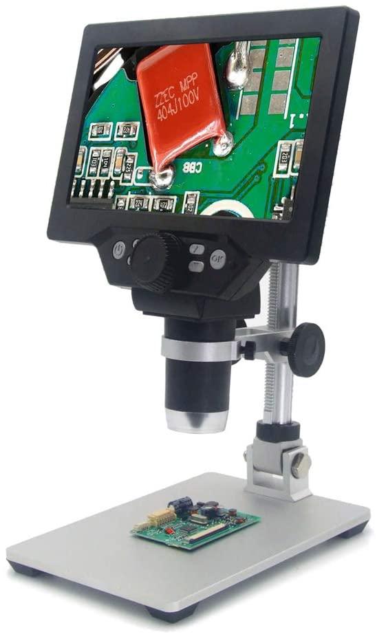 Sazoley Microscope G1200 Numérique Grand écran