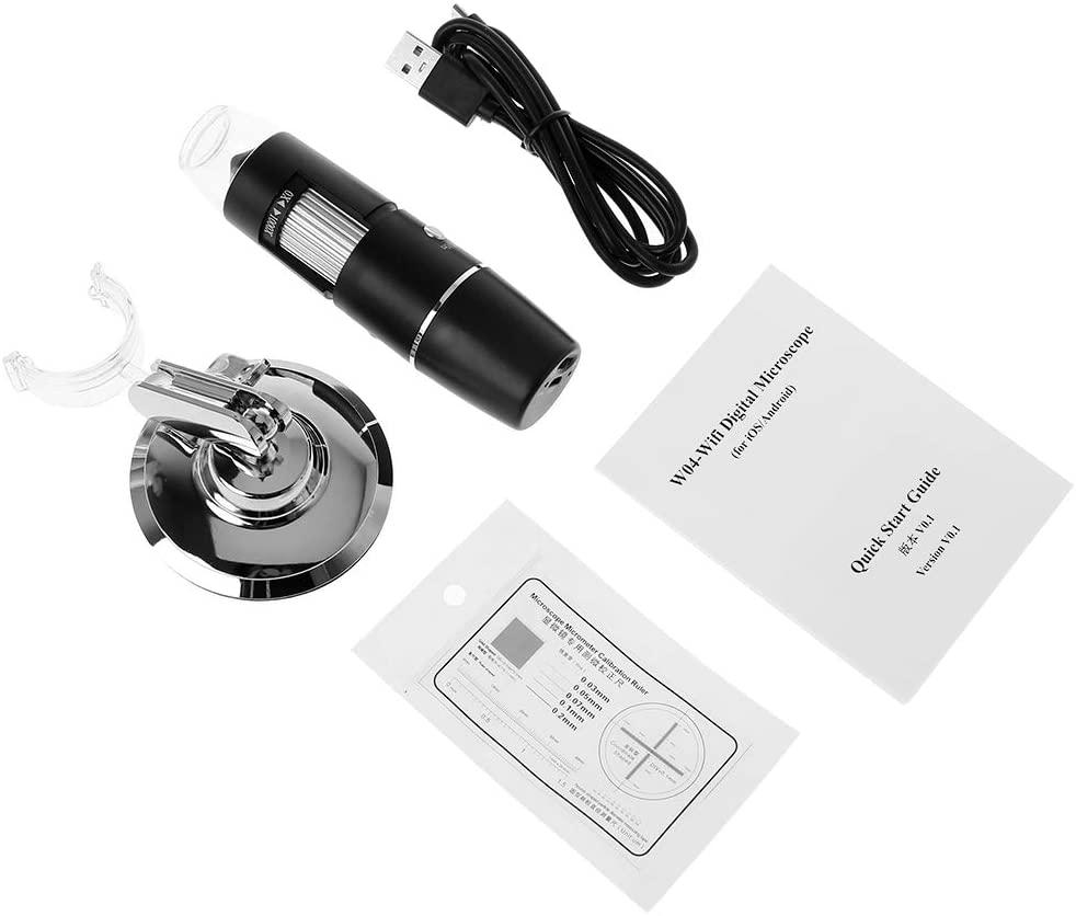 Yintiod Microscope numérique WiFi 1000X