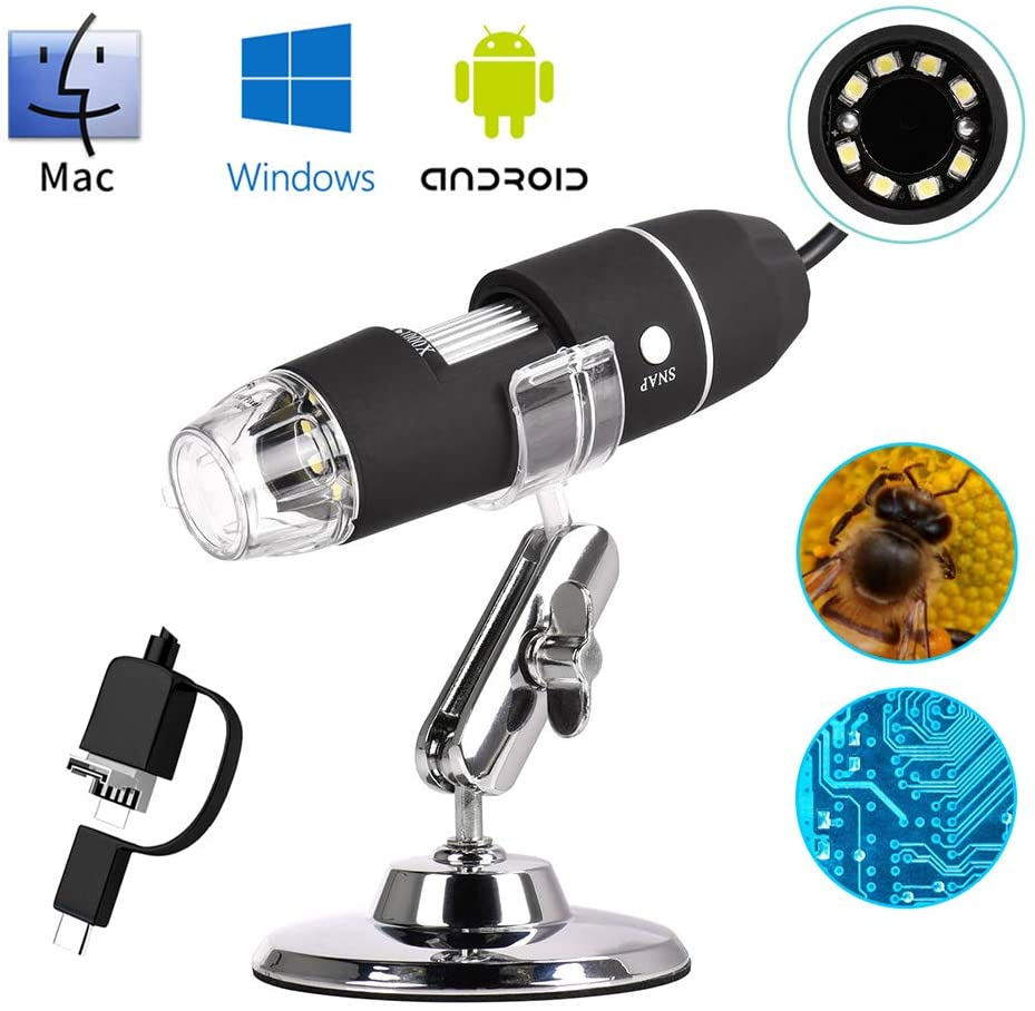 iitrust Microscope Numérique USB 50x-1000x